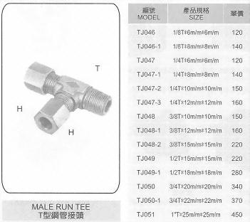 T型鋼管接頭