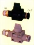 HVFS空氣由螺紋端流向插管端