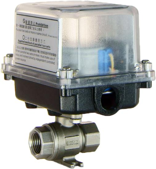 S37-2PT電動式球塞閥