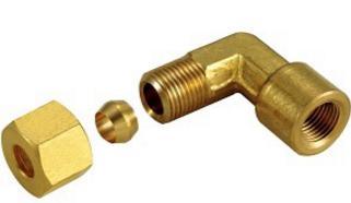 LMF90°內牙銅管