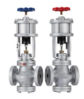 TCV/TCVS氣缸閥-鑄鐵/不銹鋼系列