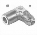 L型喉士焊接頭
