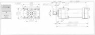 HC10系列FA型ø125x2節油壓缸
