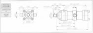 HC10系列TC型ø125x2節油壓缸
