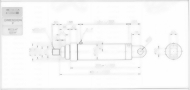 HC10系列CA型ø125x3節油壓缸
