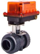 S37-2UPV電動式塑膠閥(PVC)