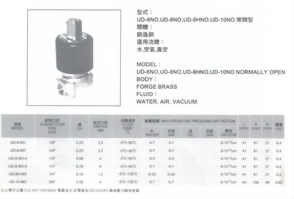 UD-6NO,UD-8NO,UD-8HNO,UD-10NO常開型