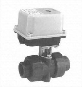 BP-2UPV電動式塑膠閥(PVC)