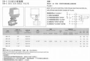 UM-1SUS316牙口球塞閥