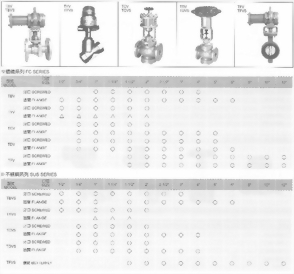 TFV/TFVS氣缸閥-鑄鐵/不銹鋼系列