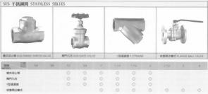 銅球型開關-SUS不銹鋼閥-Y型過濾器