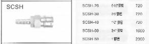 SCSH不銹鋼C式快速接頭插座