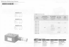 油壓元件-積層型調整閥
