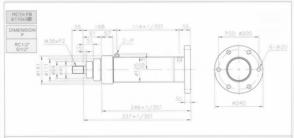 HC10系列FB型ø110x3節油壓缸