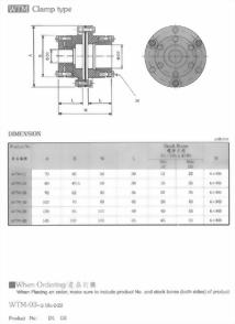 WTM聯軸器