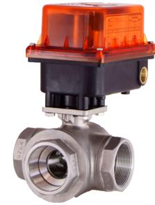S10-3BL電動式三通閥加高型