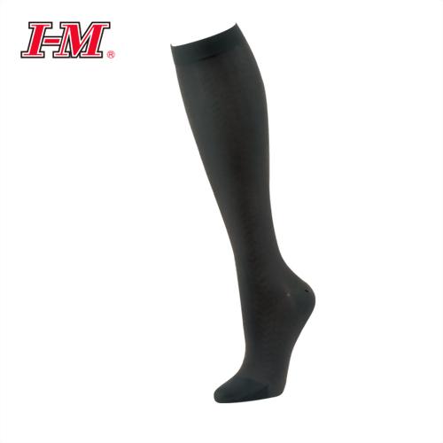 時尚彈性小腿襪(魅力黑)