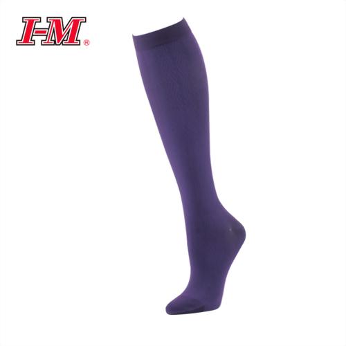 時尚彈性小腿襪(葡萄紫)