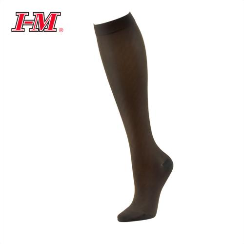 時尚彈性小腿襪(茶花咖)