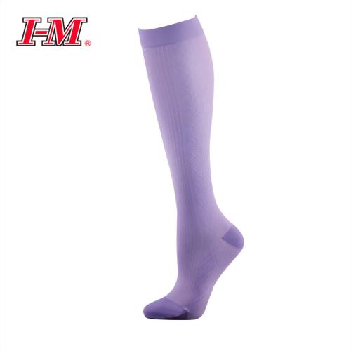 時尚彈性小腿襪(薰衣紫)