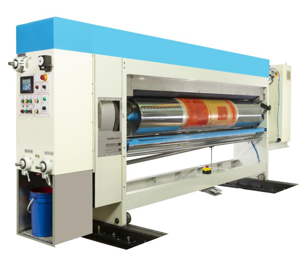 PS-500N 自動設定水性印刷開槽啤盒機