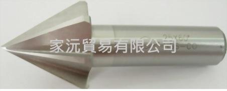 直柄中心絞刀-倒角刀60°、90° (傘型絞刀)
