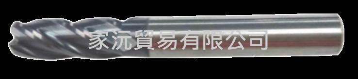 JCT鎢鋼圓鼻銑刀(4刃)