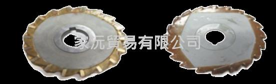 焊刃鎢鋼側銑刀