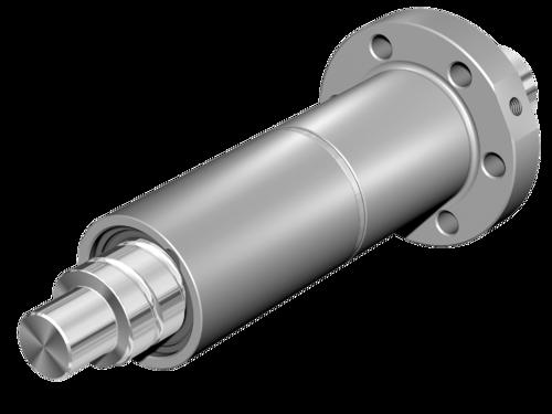 法蘭式雙螺母 FDM-E-S