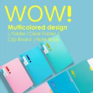 WOW! Multicolored design