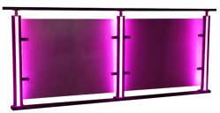 LED发亮栏杆