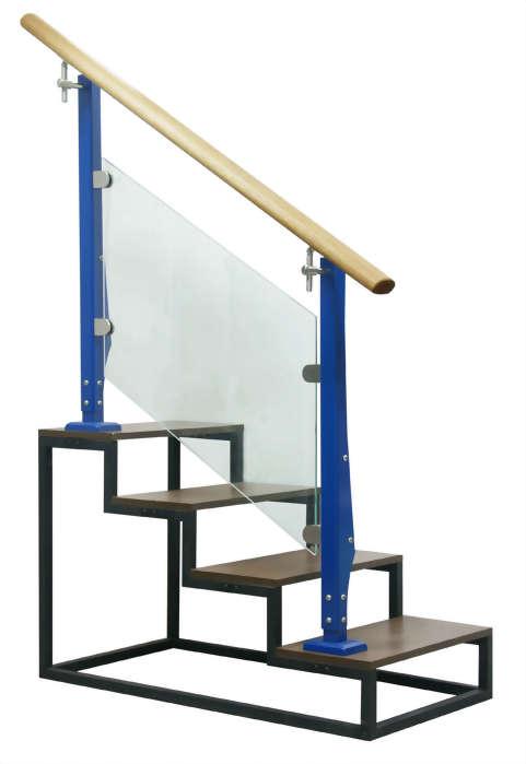 三面式2D扶手(底板型)藍色