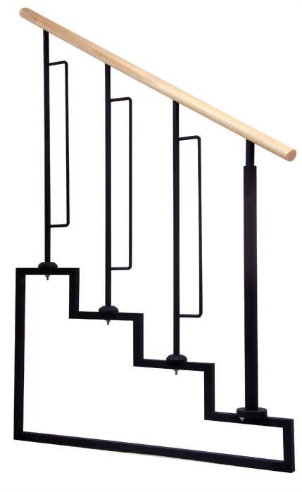 井型-1梯花+一又二分之一圓柱