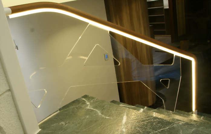 LED壓克力扶手
