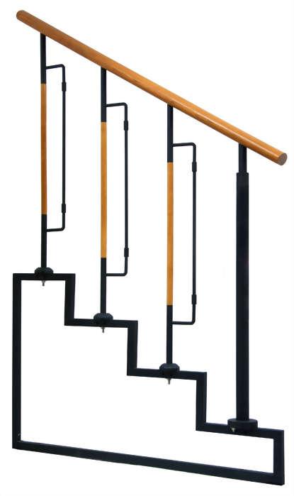 鋼木井型-1梯花+一又二分之一圓柱