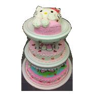 結婚及祝壽多層蛋糕