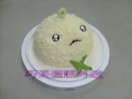 立體外星人七仔造型蛋糕