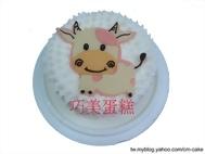 小牛造型蛋糕
