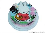 米非兔(miffy兔)2D造型蛋糕