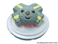 立體LOCK將造型蛋糕