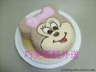 米妮造型蛋糕
