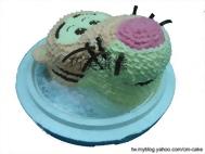 跳跳虎(頭)造型蛋糕