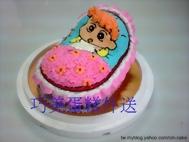 小葵搖籃造型蛋糕