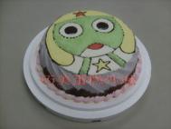 軍曹造型蛋糕