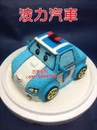 波力汽車巧美造型蛋糕
