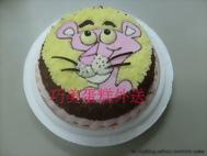 頑皮豹造型蛋糕