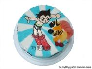 原子小金剛造型蛋糕