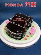 Honda 黑色汽車