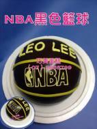 NBA黑色籃球