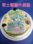 武士貓圖片蛋糕